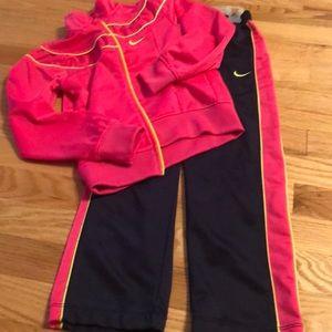 Nike pants suit